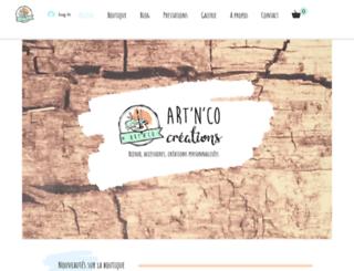 artnco.fr screenshot