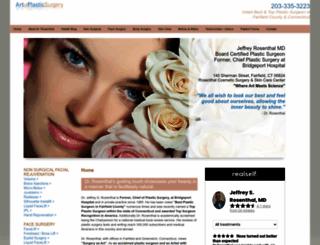 artofplasticsurgery.com screenshot