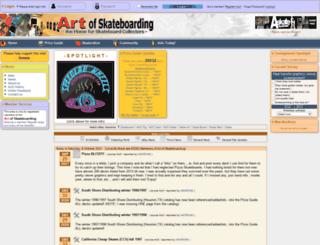 artofskateboarding.com screenshot