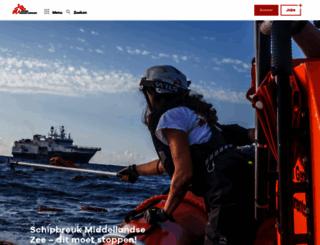 artsenzondergrenzen.nl screenshot