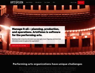 artsvision.net screenshot