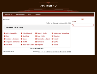 arttech4d.com screenshot