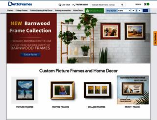 arttoframe.com screenshot