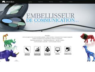 arturoandco.com screenshot