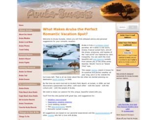 aruba-sunsets.com screenshot