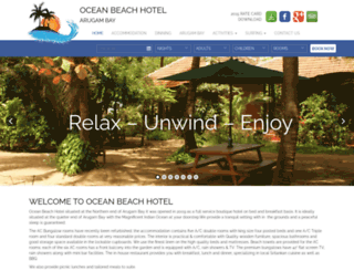 arugambayhotel.com screenshot