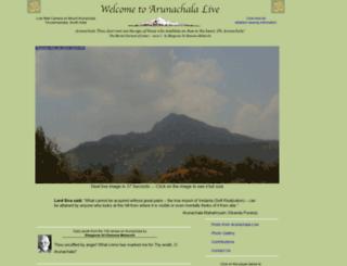 arunachala-live.com screenshot