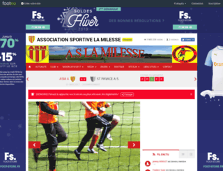 as-lamilesse.footeo.com screenshot