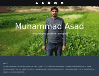 asadmianwali.info screenshot