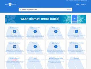asan.az screenshot