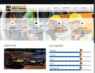 asanduff.com screenshot