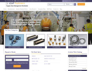 asap-fasteners.com screenshot