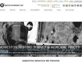 asbestossupermarket.com screenshot