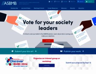 asbmb.org screenshot