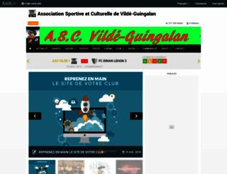 asc-vilde.footeo.com screenshot