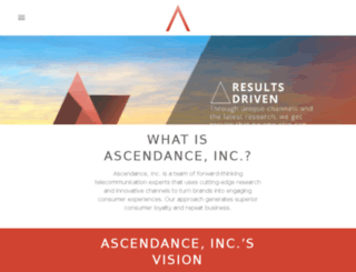 ascendanceinc.com screenshot