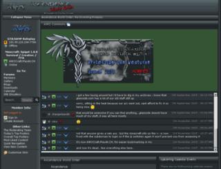 ascendence.net screenshot