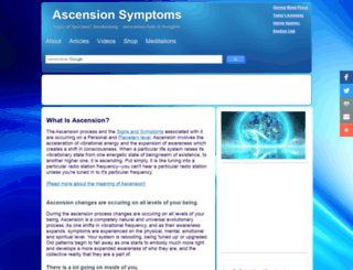 ascensionsymptoms.com screenshot