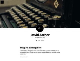 ascher.ca screenshot