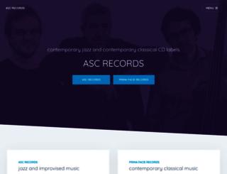 ascrecords.com screenshot
