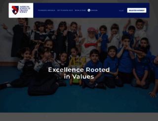 ascs.sch.ae screenshot