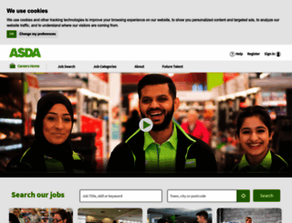 asda.jobs screenshot