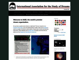 asdreams.org screenshot