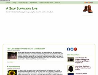 aselfsufficientlife.com screenshot