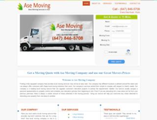asemoving.com screenshot