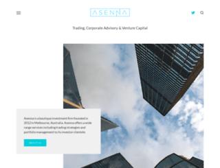 asenna.com.au screenshot