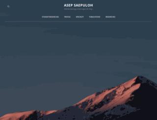asepsaepuloh.com screenshot