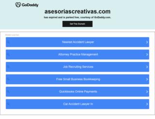 asesoriascreativas.com screenshot