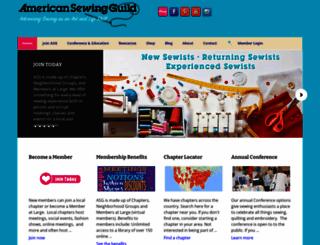 asg.org screenshot