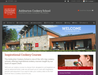 ashburtoncookeryschool.co.uk screenshot