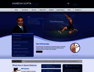 asheeshguptamd.com screenshot