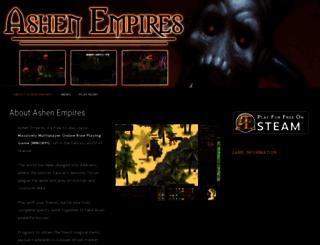 ashenempires.com screenshot