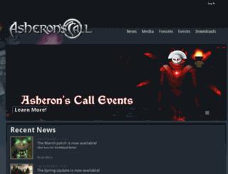 asheronscall.com screenshot