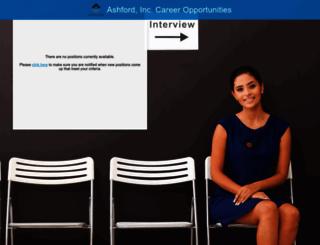 ashfordinc.jobinfo.com screenshot