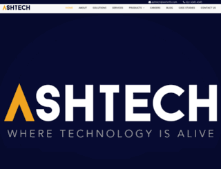 ashinfo.com screenshot