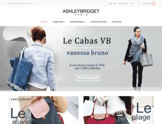 ashleybridget.fr screenshot