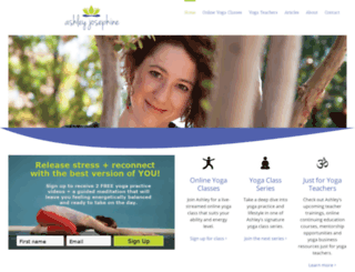 ashleyjosephine.com screenshot