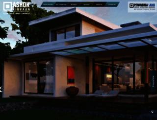 ashoknirvaan.com screenshot