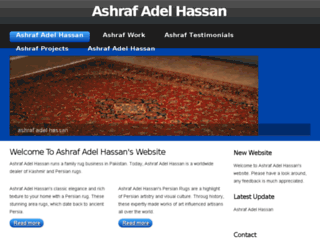 ashrafadelhassan.net screenshot