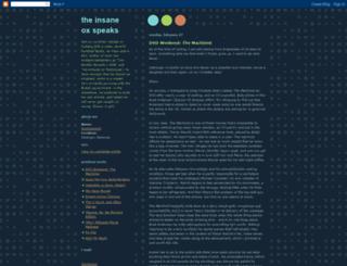 ashsownmind.blogspot.fr screenshot