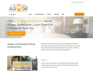 ashsr.com screenshot