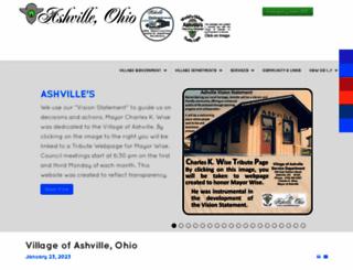 ashvilleohio.gov screenshot