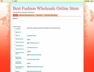 asia-fashion-wholesale.blogspot.com screenshot
