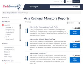 asia-monitor.com screenshot