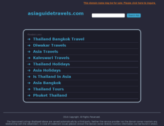 asiaguidetravels.com screenshot