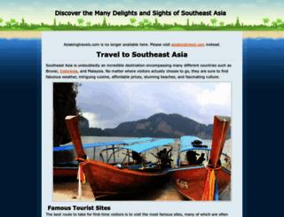 asiakingtravels.com screenshot